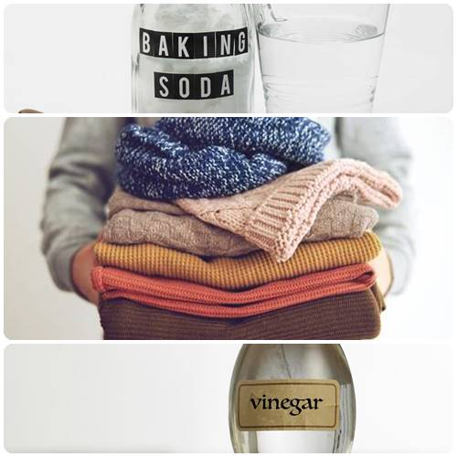 How to get mold out of clothes with baking soda & Vinegar