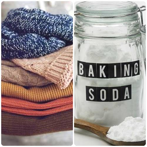 How to get mold out of clothes with baking soda