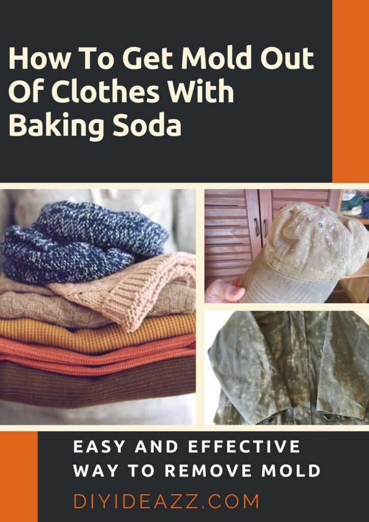 How To Get Mold Out Of Clothes With Baking Soda | Mold Home Remedy