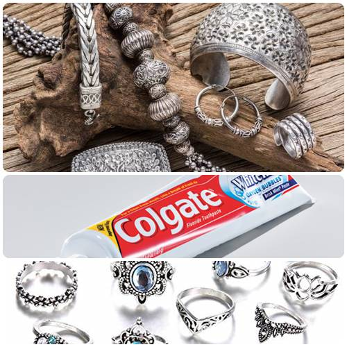 How to clean fake jewelry with toothpaste