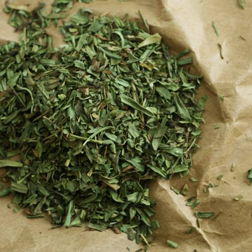 How to store tarragon leaves