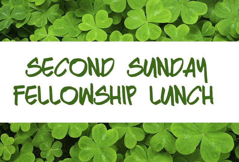 Second Sunday Fellowship Lunch