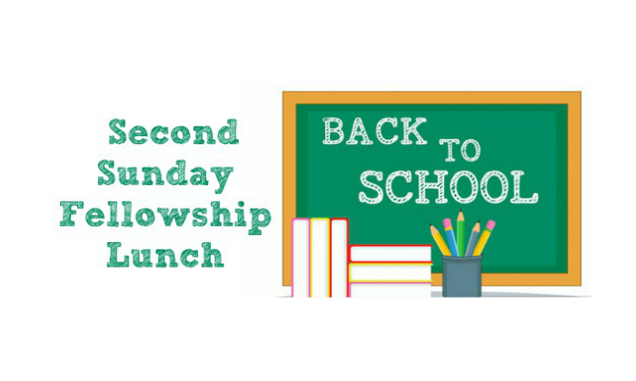 Second Sunday Fellowship Lunch – August