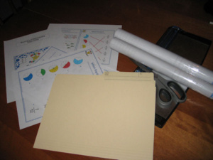 Organizing 101 – The File Folder