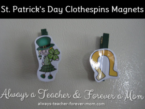 Make Your Own St. Patrick's Day Magnets