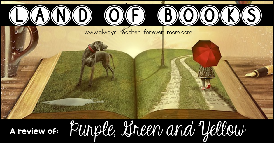 Land of Books - a review of Purple, Green and Yellow