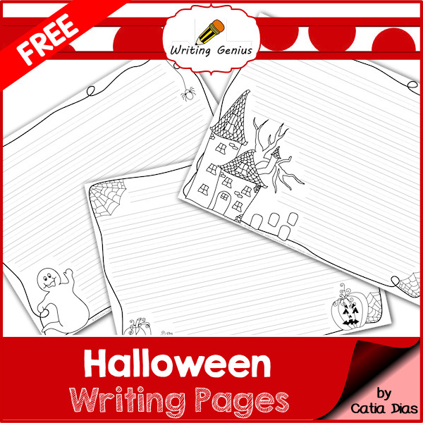 Free Halloween Writing Pages