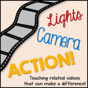Lights, Camera, Action! – Project Based Learning -Take 1