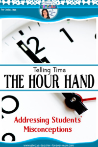 Telling Time – The Hour Hand