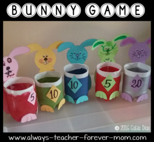 Make Your Own Bunny Game From Recycled Pop Bottles