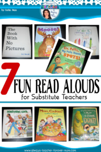 7 Humorous Read Alouds for the Elementary Substitute Teacher