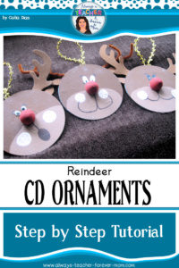 Holiday Ornaments – DVD Reindeer