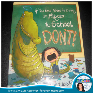 What to do when the class you are subbing for is hard to control? Pause everything and read them a funny picture book!