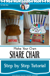 "Make Your Own ""Share Chair"""