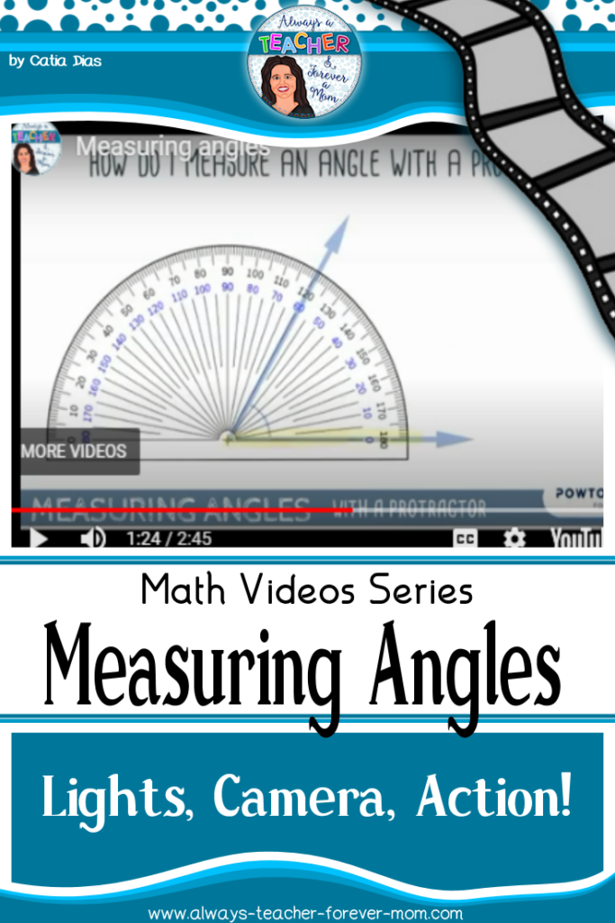 A quick video explaining how to measure angles when using a protractor. Ideal for the quick visual explanation your student might need.