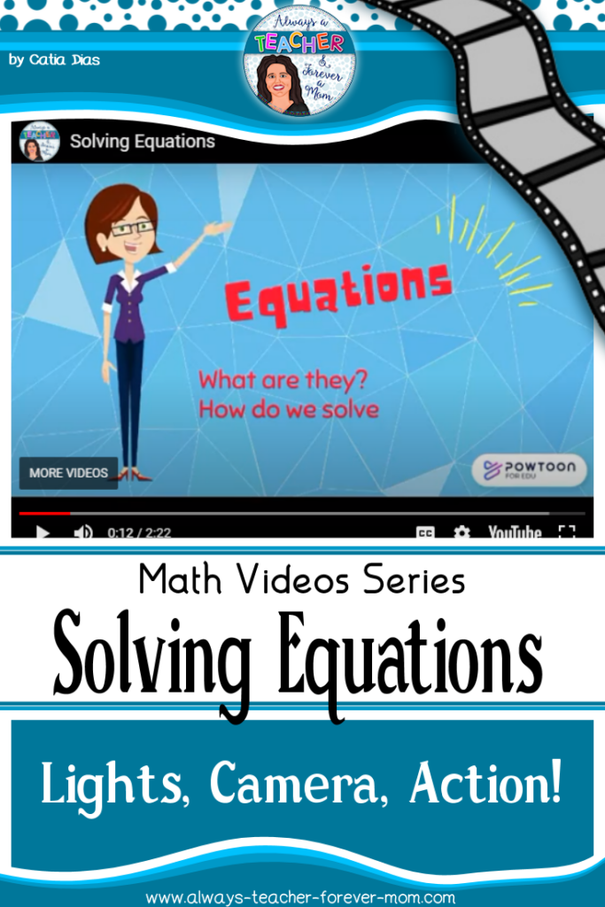 A quick video explaining how to solve simple equations using the balancing method.