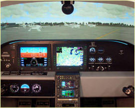 cirrus flight simulator