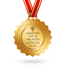 Feedspot Top 40 Malaysia Lifestyle Blogs Badge