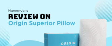 MummyJene Reviews On Origin Superior Pillow Blog Featured Image