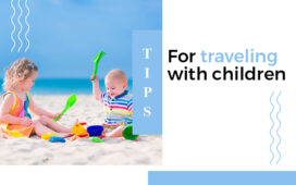 Tips for traveling with children blog featured image