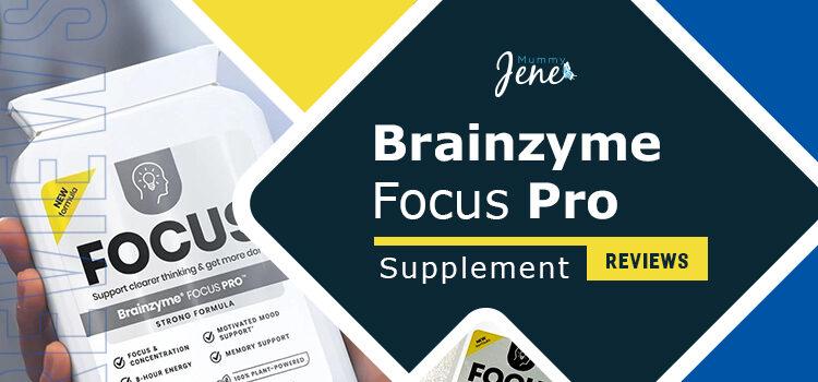 Brainzyme Focus Pro Supplement Reviews Blog Featured Image