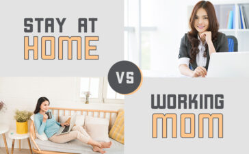Stay At Home Mom And Working Mom Blog Featured Image