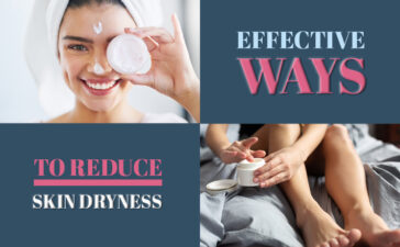 Ways To Reduce Dry Skin Blog Featured Image