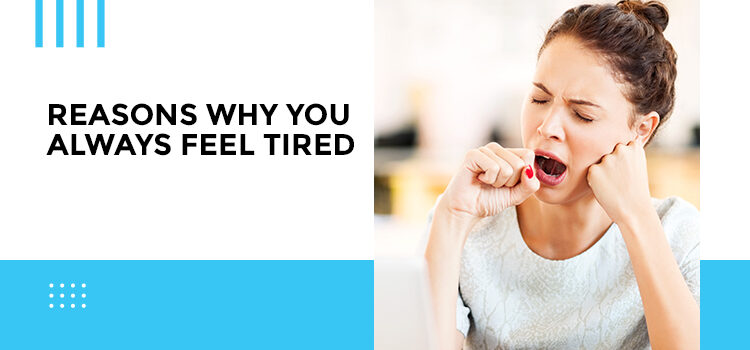 Reasons Why You Always Feel Tired Blog Featured Image