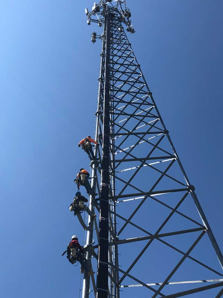 About STG Communications Workers on Tower