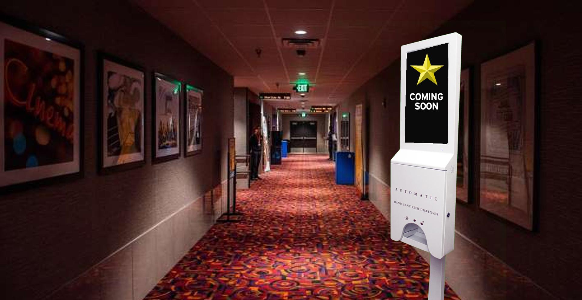 Purchase - Movie Theatre Hand Sanitizer Dispenser