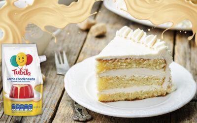 Torta de Vainilla con Tubito