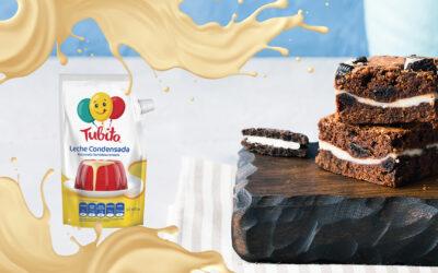 Brownie de Chocolate con Tubito
