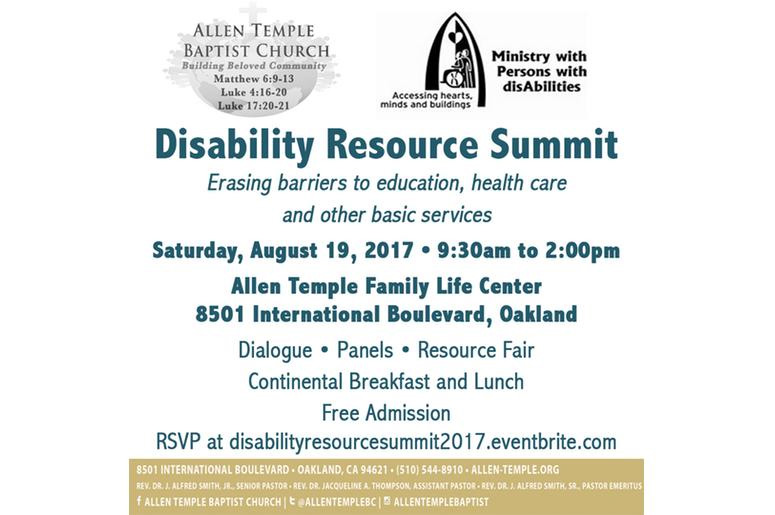 disability resource summit event
