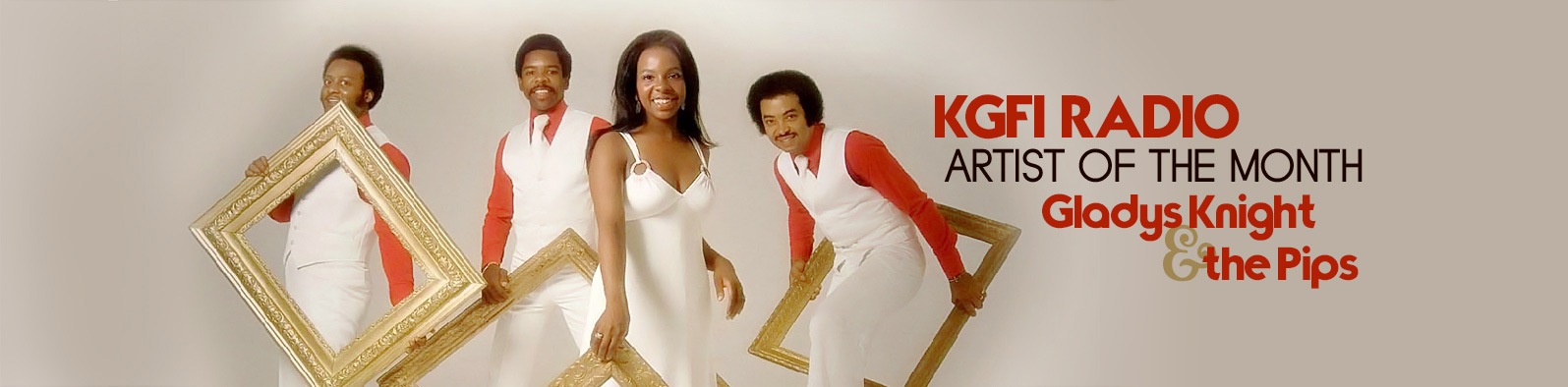 artist of the month gladys knight the pips