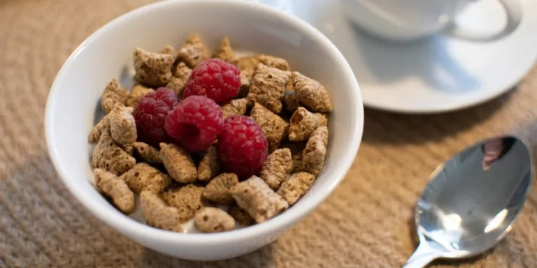 cereal with too much iron