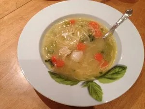 pressure cooker chicken soup