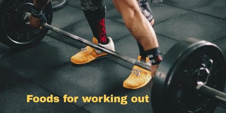 foods for working out