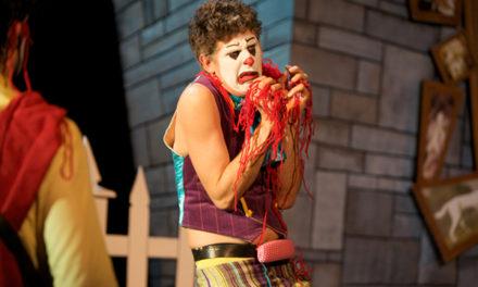 MöcShplat: Macbeth Played by Clowns. In Gibberish.