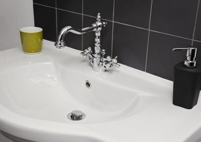 refinished bathroom sink