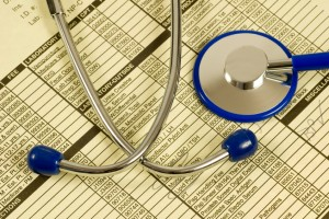 Medical codes and stethoscope