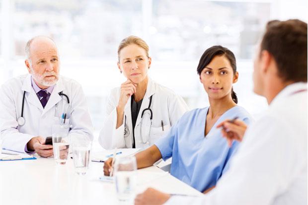medical coder and medical staff