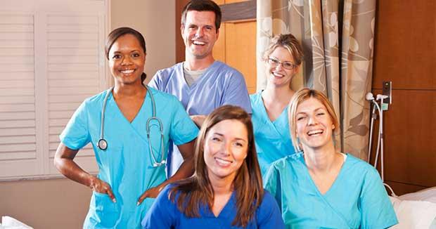 healthcare job workers