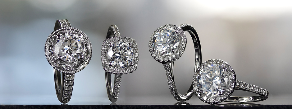 4 Engagement Rings with Halo