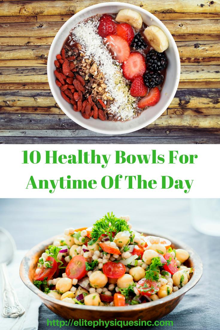 Healthy bowls