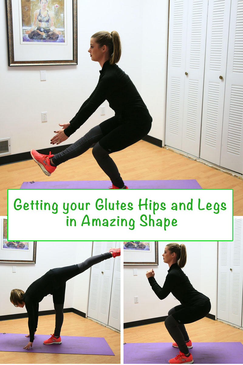 leg and glute exercises