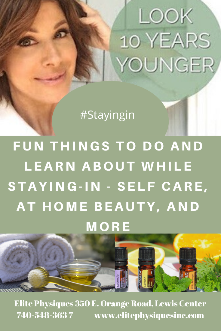 Staying-In - Self Care, at Home Beauty, and More