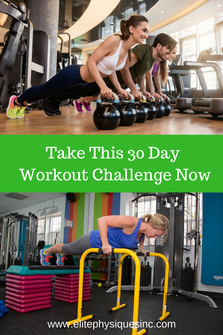 30 Day Workout Challenge Now