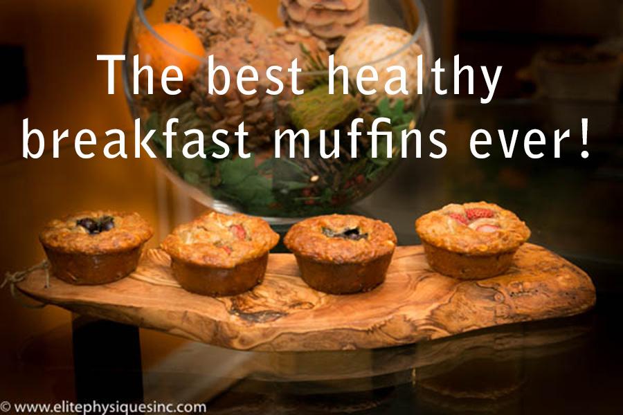 best healthy breakfast muffins ever