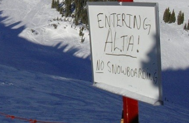 Alta's Ban on Snowboarding Lawsuit: A Snowboarder's Perspective
