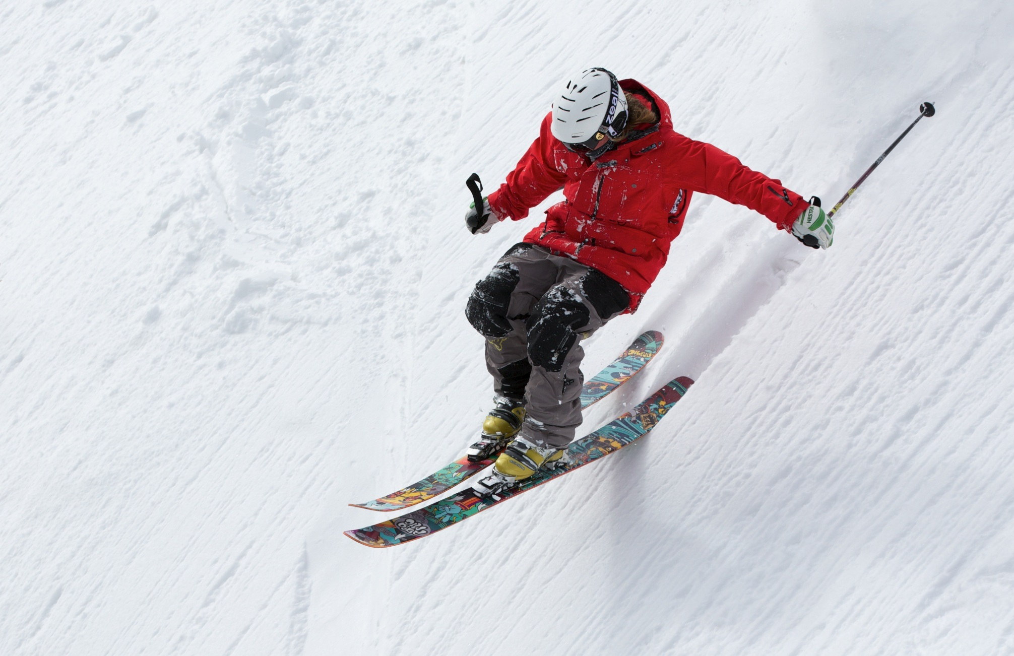 Skiing with bad knees